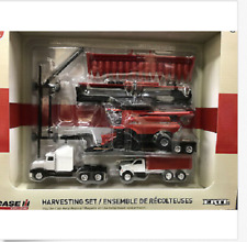 ERTL Case IH Harvesting Set 1/64 Scale Toy