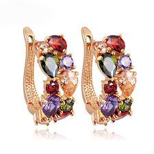 New Hot Fashion Women Lady Elegant shiny Crystal Rhinestone Ear Stud Earrings