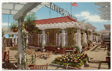 DENVER CO ADV GATES TIRES, ROOF GARDEN, OLD POSTCARD, NOW ON SALE * PC4879