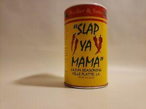 Walker & Sons Slap Ya Mama Original Blend Cajun Seasoning Mix 8 oz. Can Spice