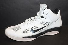 Nike Hyperfuse 2012 White/Black 407623-100 Men's SZ 18
