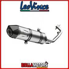 8488E SCARICO COMPLETO LEOVINCE GILERA NEXUS 500 2011- LV ONE EVO INOX/CARBONIO
