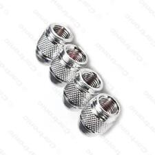 Acero de aleación de metal plata Metálico Polvo Tapas De Válvula De Rueda Neumático (DC4) MC17/10