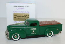 MINIMARQUE 1/43 US9A - 1946 HUDSON PICK UP - STAFFORDSHIRE TERRIER KENNELS
