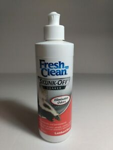 Fresh-n-Clean Skunk-Off Soaker eliminates odors 8 Oz