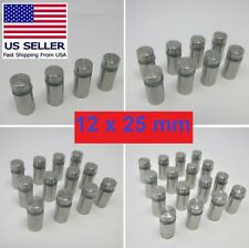 Glass & Sign Wall Standoff Screws 12 x 25 mm**Stainless Steel**US SELLER**