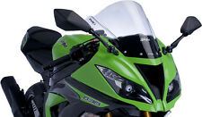 PUIG RACING SCREEN CLEAR ZX6R Fits: Kawasaki ZX600 Ninja ZX-6R,ZX636 Ninja ZX-6R