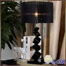 European Style Brief Crystal Bedside Light Fashion Bedroom Lighting Table Lamp