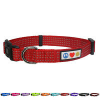 Adjustable Pet Soft Reflective Puppy / Dog Collar by Pawtitas