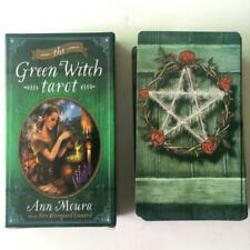 Green Witch Tarot Deck 78 Cards Divination Prophet Cards
