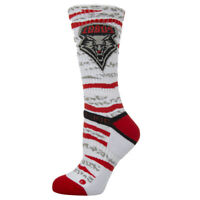 Strideline Athletic Socks New Mexico Lobos White Bengal 6800111 Strapped Men's