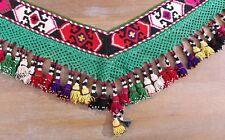 """6.69"""" x 53.54"""" Tassel Segusha Belly Dance Uzbek VINTAGE FAST Shipment UPS 11479"""
