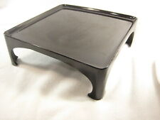 New ListingAntique Japanese Meiji Era 110 Yr Old Wood & Lacquer Obon Ozen Tray Table