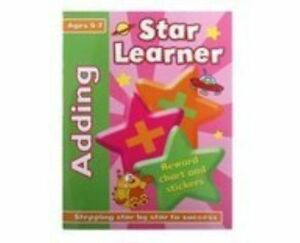 Star Learner - Adding - Ages 5-7 - Reward Chart and Stickers *FREE P&P*
