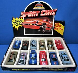 Die Cast Muscle Cars ~ Store Display Box of 12 ~ Pull Back Action