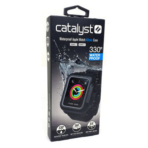 Catalyst Band and Waterproof Case for Apple Watch 42mm Series 2 3 Stealth Black
