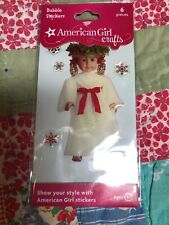 American Girl crafts Kirsten Bubble Stickers 6 pieces