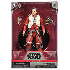 Star Wars The Force Awakens Poe Dameron Elite Series Die Cast Action Figure