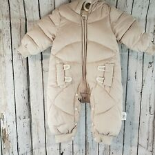 Bunny Infant Baby Girl Snow Suit 6-12M Excellent Condition