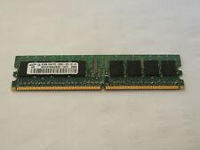 M378t6553bzo-kcc Samsung Hynix 2x 512 Mb 2gb Pc2-3200u Ddr2 Pc De Escritorio Memoria Ram