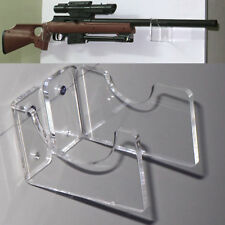 Acrylic Rifle Holder / Musket Brackets / Rifle Wall Mount Display / Gun Weapon