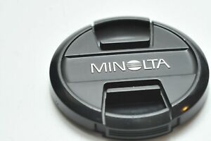 Genuine Minolta OEM 55mm Snap-On Lens Cap LF 1255