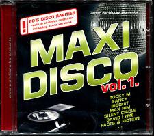 MAXI DISCO VOL.1 - SECOND EDITION -  CD COMPILATION ITALO DISCO