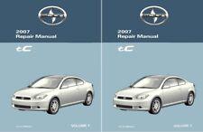 2011 SCION xD Shop Service Repair Manual Complete Set