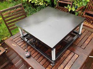 VIBRATING TABLE CONCRETE SCREENER COMPACTOR AGITATOR SHAKER ORNAMENT TUMBLER