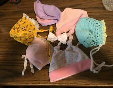 Vintage Lot Of Misc. Size Doll Hats!
