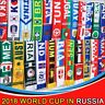 2018 Russia World Cup Soccer Nation Teams Scarf Football Fans Support Souvenirs