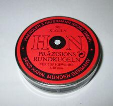 H&N 4.40mm Precision Round Balls (Black Graphite) Box of 500