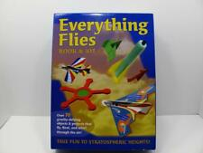 Everything Flies Book & Kit Paper Airplanes Gliders Mud Puddle Books 1595A-1