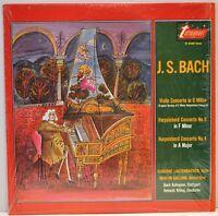 """Susanne Lautenbacher/Martin Galling """"Bach Violin Concerto in G Minor"""" TV 34102S"""