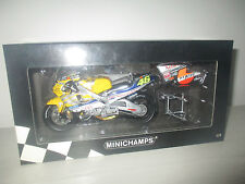 HONDA NSR 500 TEAM NASTRO AZZURRO 500cc GP 2001 MINICHAMPS 122 016146  1:12