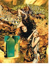 PUBLICITE ADVERTISING 074  1998  JEAN LOUIS SCHERRER  parfum NUITS INDIENNES