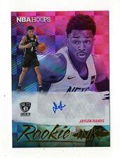 JAYLEN HANDS NBA 2019-20 HOOPS ROOKIE INK AUTOGRAPH (BROOKLYN NETS)