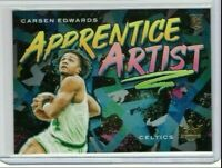 2019-20 Panini Court Kings Carsen Edwards Apprentice Artist RC #14 Rookie Card