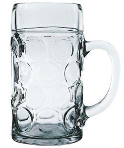 Stölzle-Oberglas ISAR Maßkrug 1.265 Liter mit Füllstrich bei 1l 6 Stück