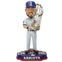 Chicago Cubs Jake Arrieta #49 2016 World Series Champions Bobblehead