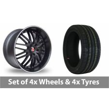 EX Axe One Piece Rim Wheels with Tyres