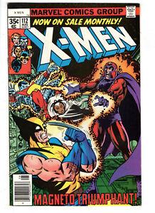UNCANNY X-MEN #112 (1978) - GRADE 7.0 - 1ST APPEARANCE OF ASTEROID M!