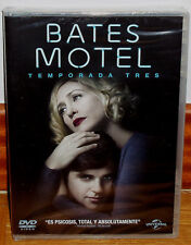 Bates Motel 3 First Season Complete 3 DVD New Sealed Series (Sleeveless Open) R2