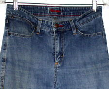 Wrangler Womens Size 10 Jeans Medium Blue Wash Fly Front Straight Leg Stretch