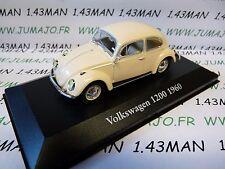 CH4 : Voitures Mythiques Atlas Chapatte : Volkswagen beetle cox 1200 1960