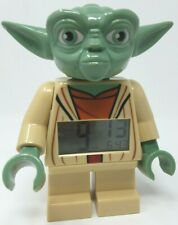 "LEGO Star Wars Yoda Digital Alarm Clock 7"" inches tall 9003080 2856203"