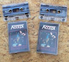 Accept-starai a Life double-MC (CASSETTA, TAPE, raccolta, rarità)