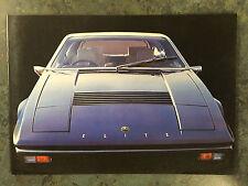 Original Lotus Elite Brochure, 3 languages, US specs.