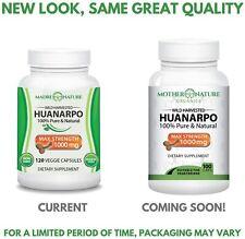 Huanarpo Powder Capsules for Men - 1000mg Max Strength Per Serving (100ct)