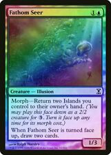 Fathom Seer FOIL Time Spiral HEAVILY PLD Blue Common MAGIC MTG CARD ABUGames